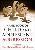 "Cover of ""Handbook of Child and Adolescent Aggression"", edited by Tina Malti and Kenneth H. Rubin"
